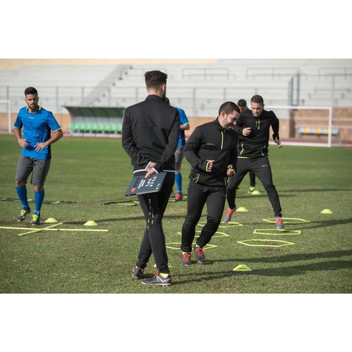 Veste d'entraînement de football adulte T100 noire - 1128799
