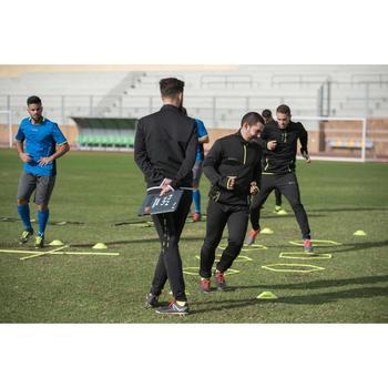 Voetbal trainingsbroek T100 voor volwassenen zwart