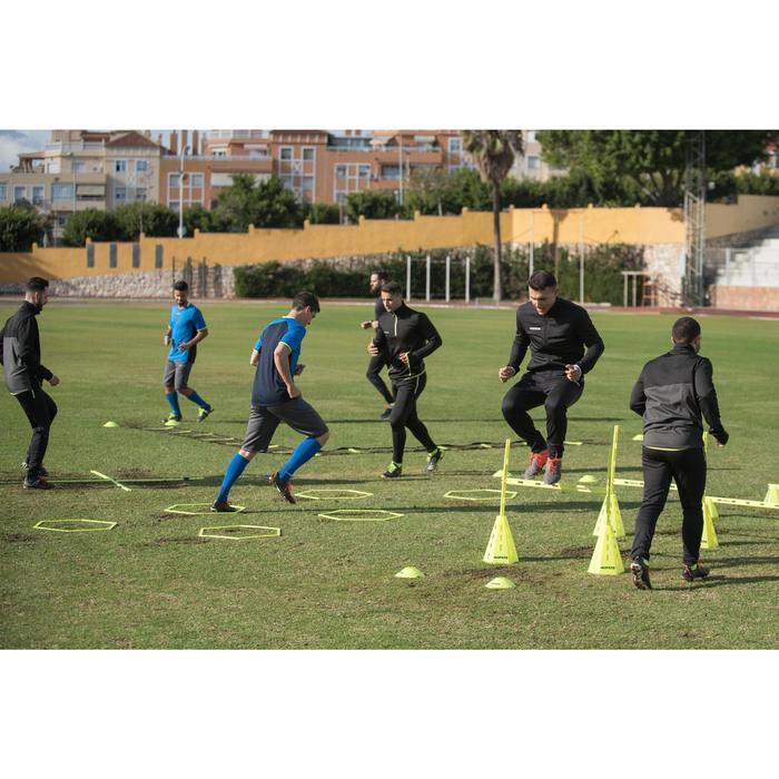 Veste d'entraînement de football adulte T100 noire