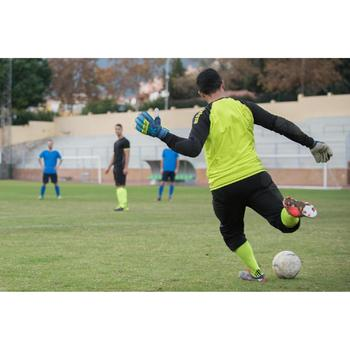 Maillot gardien football adulte F300 jaune noir - 1128810