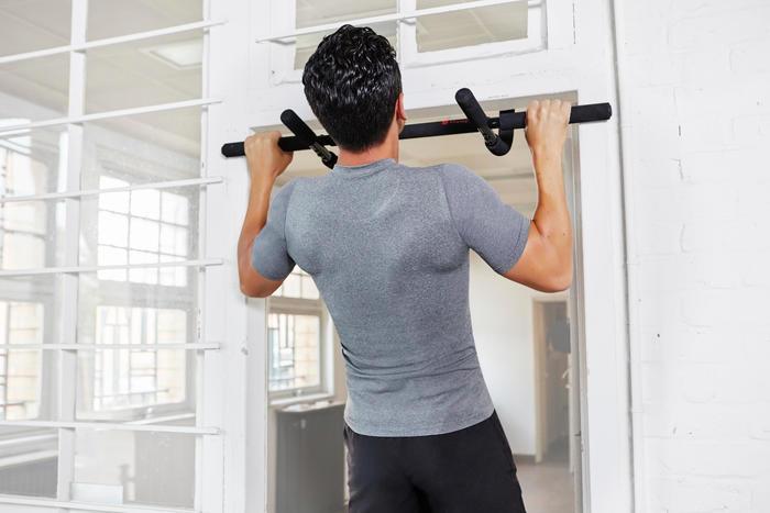 Domyos barre de traction musculation pull up bars 500 - Decathlon barre de traction ...