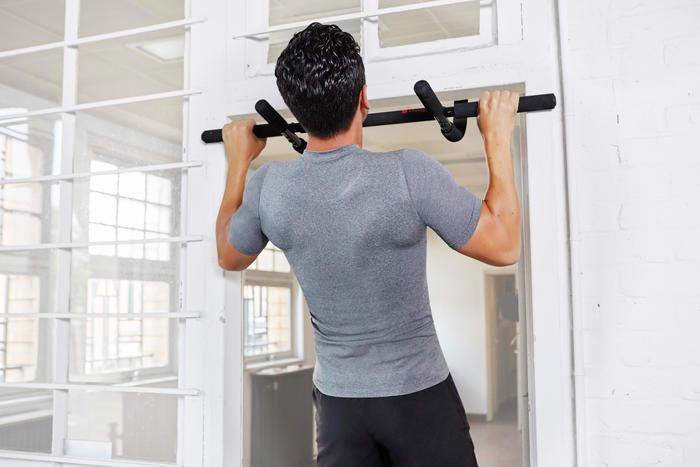 domyos barre de traction musculation pull up bars 500 decathlon. Black Bedroom Furniture Sets. Home Design Ideas