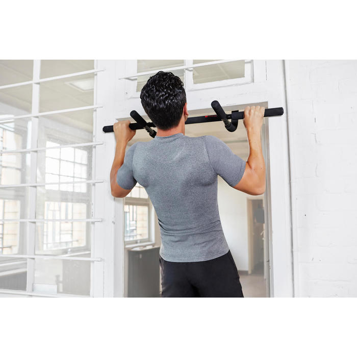 Domyos barre de traction musculation pull up bars 500 decathlon - Decathlon barre de traction ...