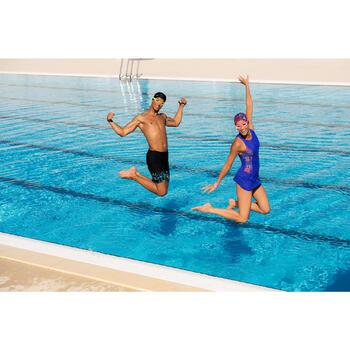 Lunettes de natation 100 EASYDOW Taille S Rose
