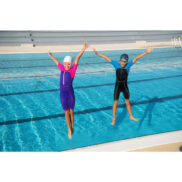 Gafas de natación EASYDOW Talla S azul blanco