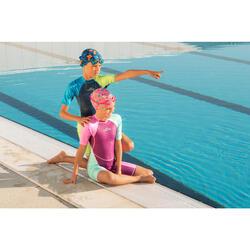 Lunettes de natation 100 XBASE Taille S rose