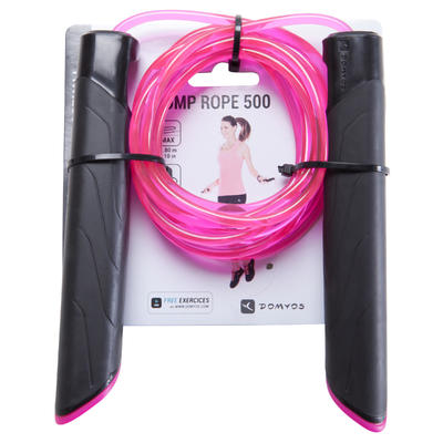 500 Adult Skipping Rope - Pink