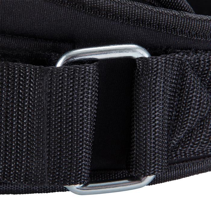 Cinturón lumbar de musculación Domyos de poliéster
