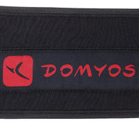 Cinturón lumbar cross training musculación Domyos poliéster