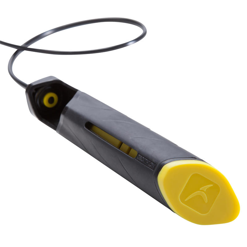 Cuerda para saltar 900 Adulto Amarilla