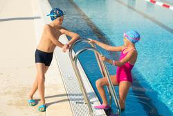Meisjesbadpak Leony+ voor zwemmen - 1129333