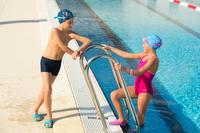"""Meiteņu viendaļīgs peldkostīms """"Leony+"""", rozā"""