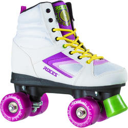 Rolschaatsen fitness Kolossal wit/paars/groen