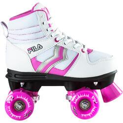 Rollschuhe Verve Kinder weiß/rosa