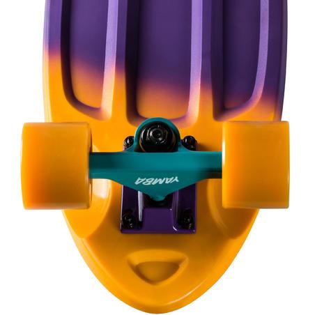 Big Yamba Cruiser Skateboard - Blue/Coral Gradient