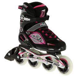 Fitness skates Primo LX 90 voor dames zwart/roze