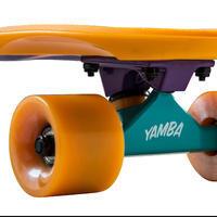 Patineta Cruiser Skateboard BIG YAMBA gradiant Coral Azul