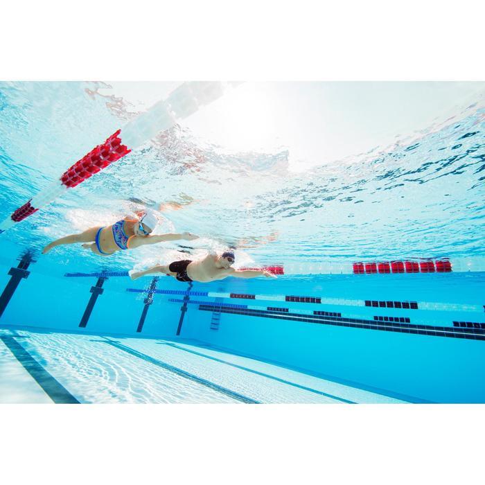 Brassière de natation femme ultra résistante au chlore Jade vib - 1129646