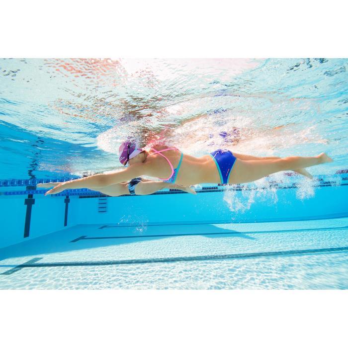 Zwemtop voor dames chloorvast Jade Ni blauw