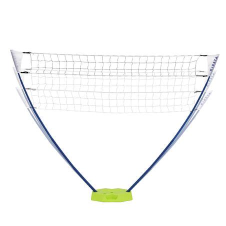 Filet de volley-ball et de volleyball de plage BV 100 jaune