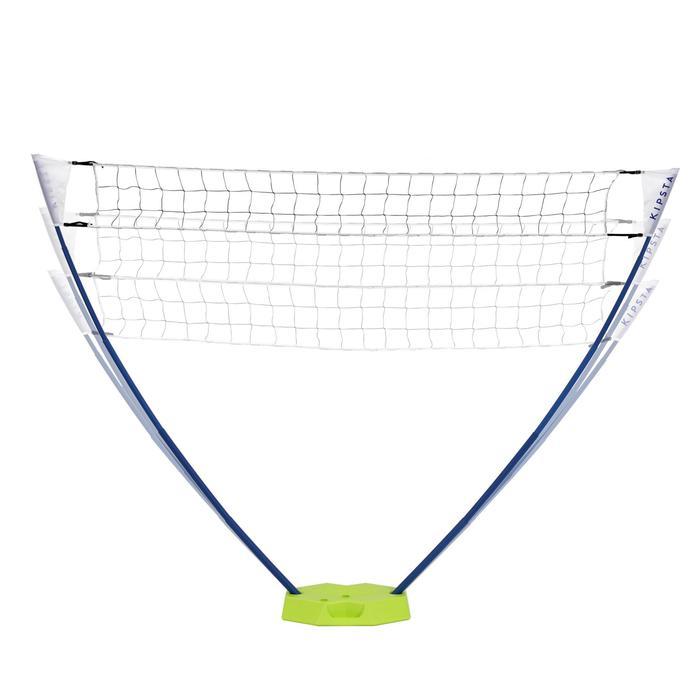 Volleybalnet / beachvolleybalnet BV100, 3 meter breed geel
