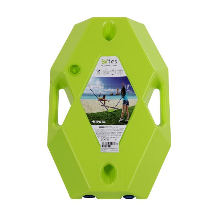 Filet de volley-ball et de beach-volley BV 100 jaune - 1129945