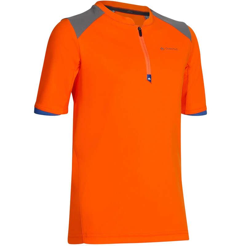 PANT SHORTS T-SHIRT BAMBINO 7-15 Sport di Montagna - T-Shirt bambino HIKE 900 QUECHUA - Trekking bambino