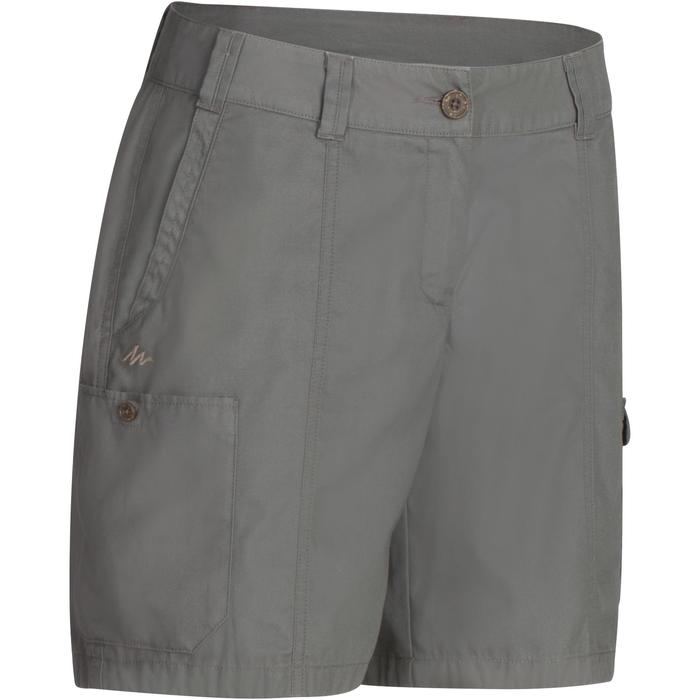 Shorts Travel 100 Damen grau