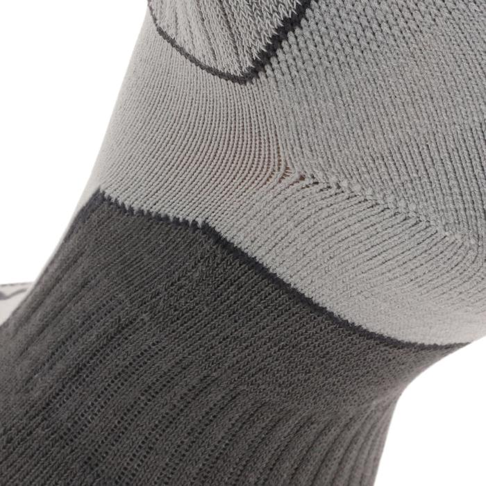 Wandersocken 100 High 2er-Pack grau