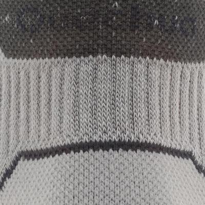 גרבי טיולים באורך בינוני. 2 זוגות Arpenaz - אפור.