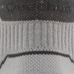 Sokken voor wandelen in de natuur NH500 mid grijs 2 paar