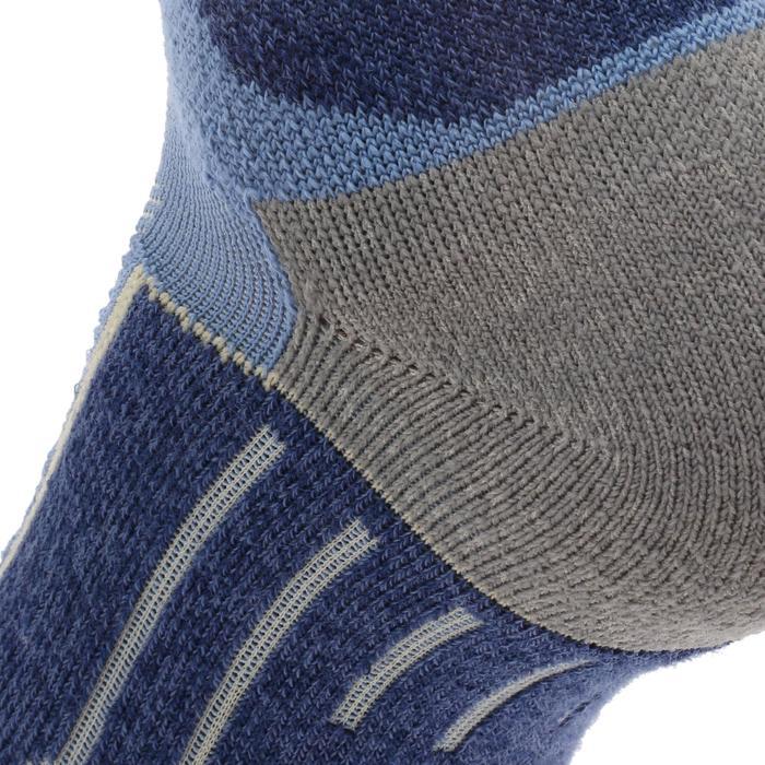 2 paires de chaussettes de randonnée montagne tige mid adulte Forclaz 900 - 1130020