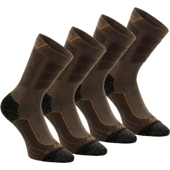 Chaussettes de randonnée montagne tiges high. 2 paires Forclaz 900 - 1130039
