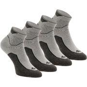 Srednje visoke nogavice za pohode v naravi Arpenaz, 2 para – sive