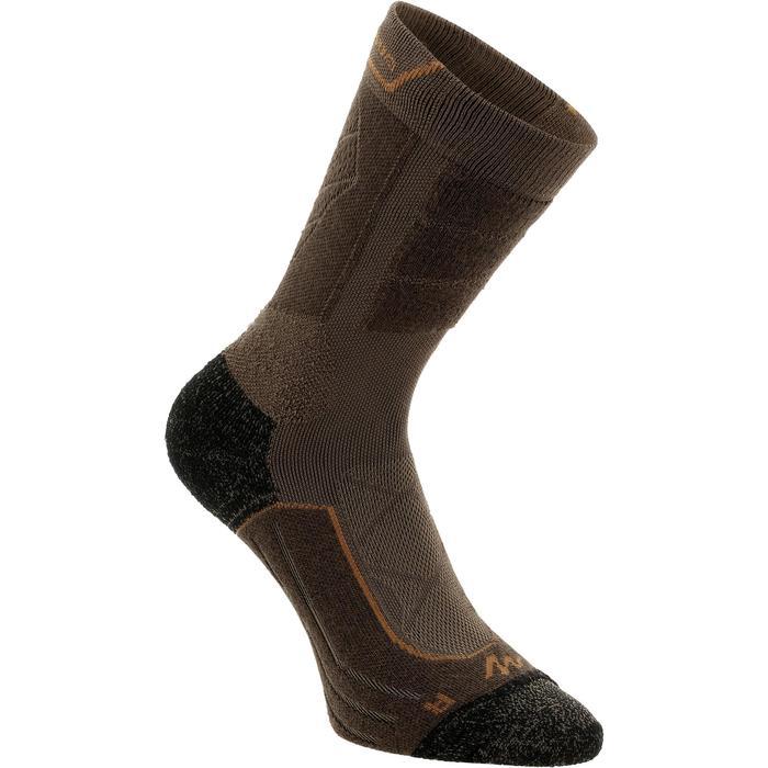 Chaussettes de randonnée montagne tiges high. 2 paires Forclaz 900 - 1130052