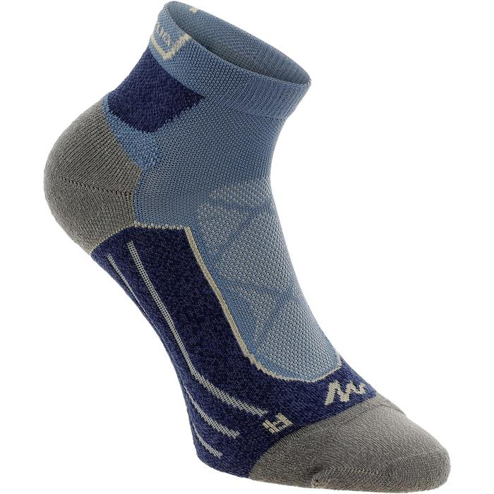 2 paires de chaussettes de randonnée montagne tige mid adulte Forclaz 900 - 1130054