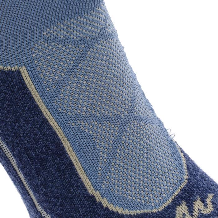 2 paires de chaussettes de randonnée montagne tige mid adulte Forclaz 900 - 1130088