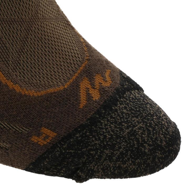 Calcetines largos de senderismo montaña. 2 pares MH 900 marrón
