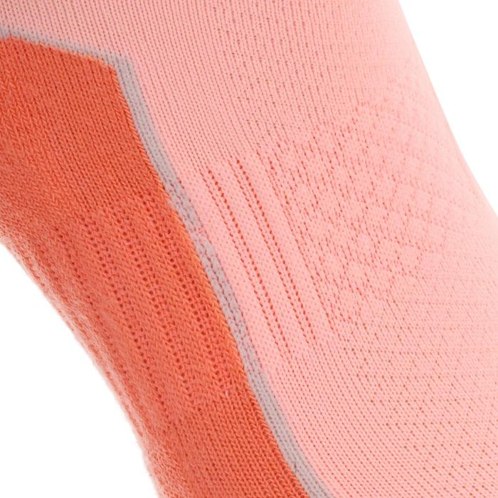 Short Country Walking Socks .Arpenaz 100 2 Pairs - Coral