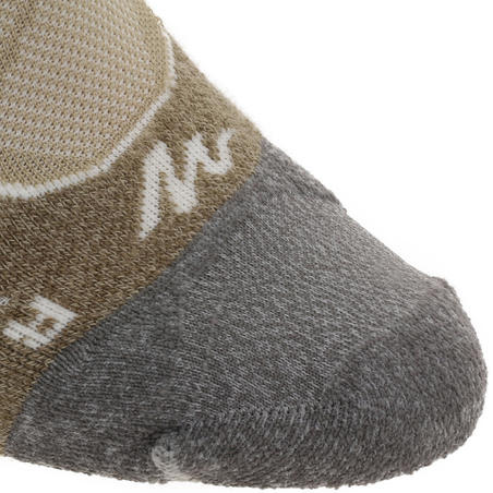High Mountain Hiking Socks. MH 900 2 Pairs - beige
