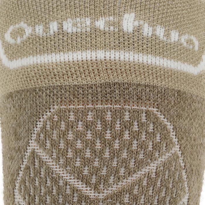 Calcetines largos de senderismo montaña. 2 pares MH 900 beige