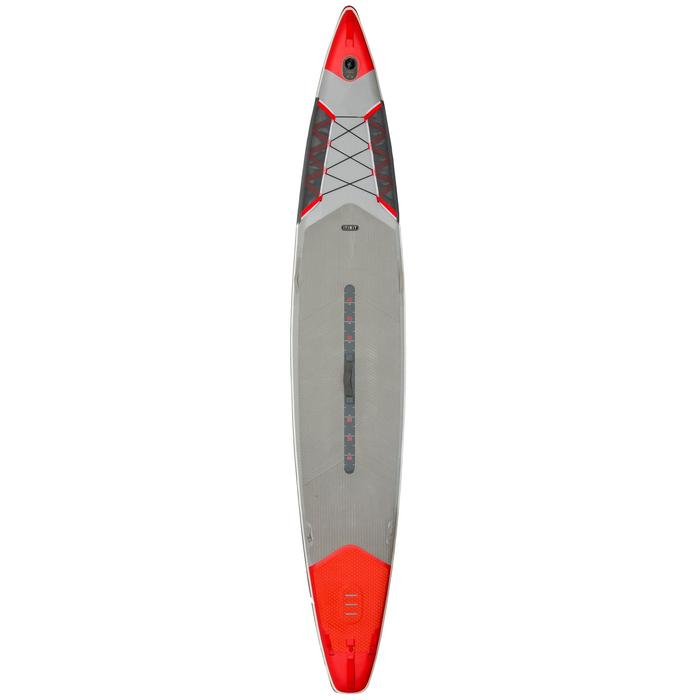 "STAND UP PADDLE GONFLABLE RANDONNEE COURSE 500 / 12'6-26"" ROUGE - 1130136"