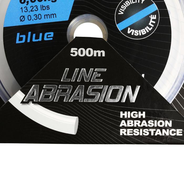 FIL DE PÊCHE LINE ABRASION BLUE 500 M - 1130150