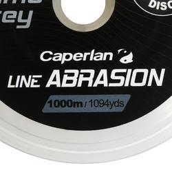 SEDAL DE PESCA DE CARPAS LINE ABRASION CAMO GREY 1000 m
