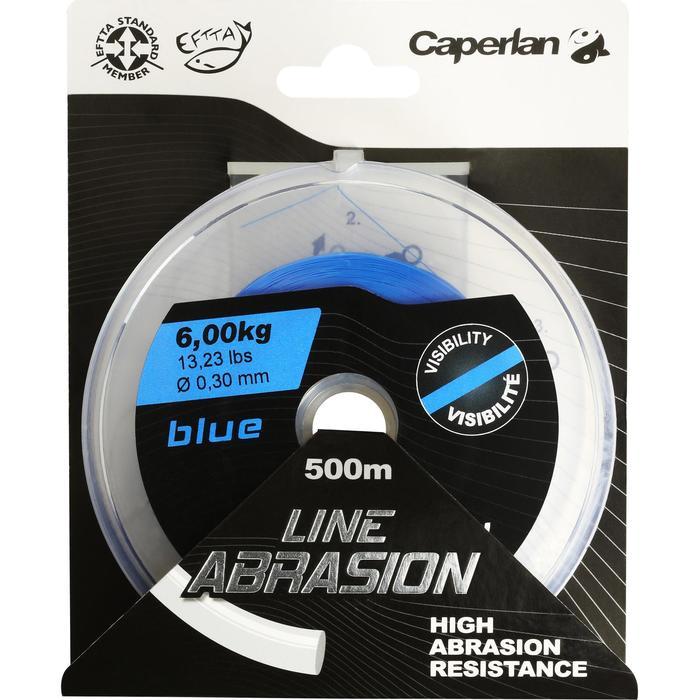 SEDAL DE PESCA LINE ABRASION BLUE 500 m