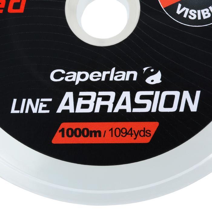 Fil line abrasion red 1000m pêche en mer