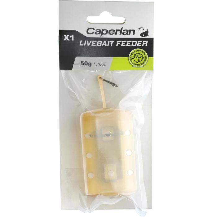 Accessoire pêche feeder LIVEBAIT'FEEDER X1 30G - 1130180