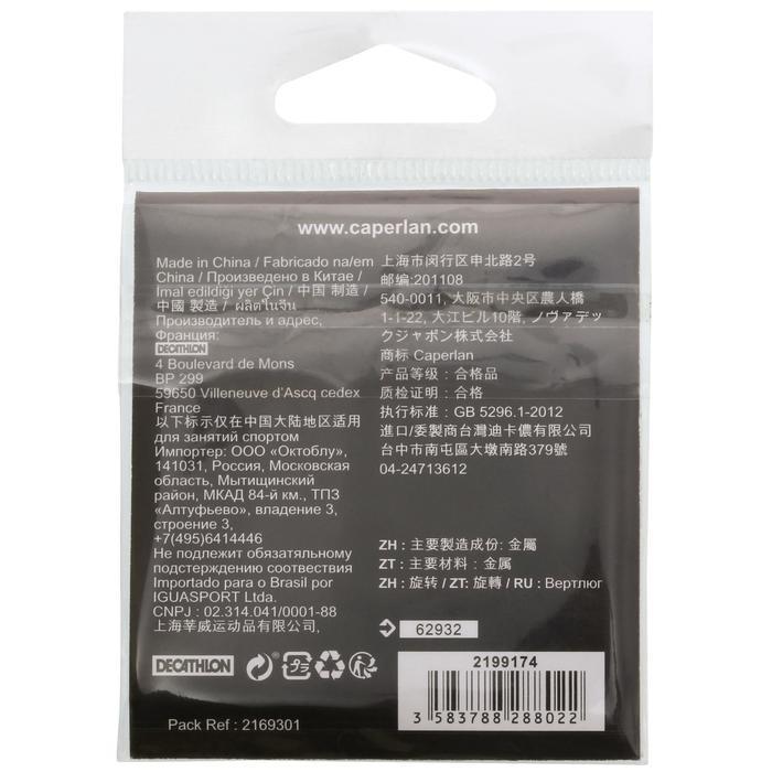 ROLLING SWIVEL BLACK NICKEL X10 - 1130196