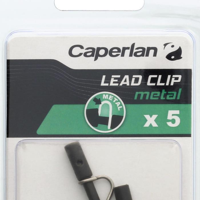 Metalen clip voor vislood karpervissen