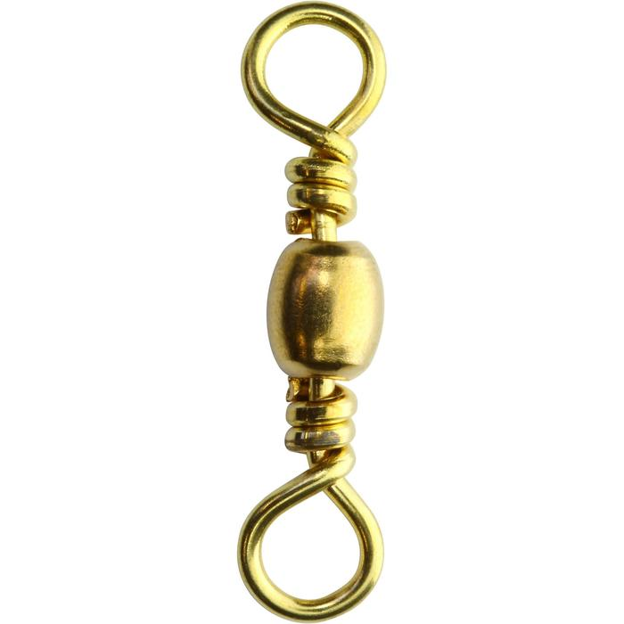 Émerillon baril pêche swivel brass SW x10